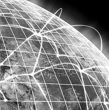 Futuristic globe