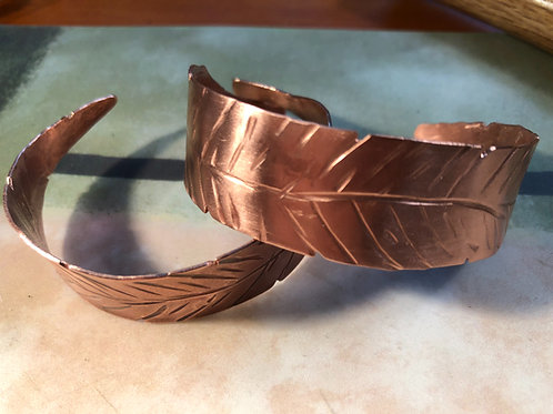 Copper Leaf /Cuffs