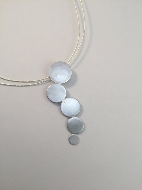 """Sterling Silver """"Droplets"""" Pendant"""