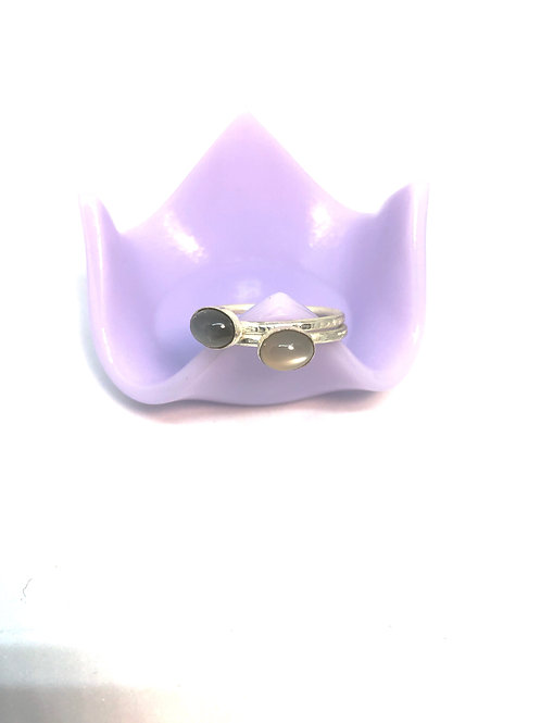 Sterling Silver Moonstone Rings