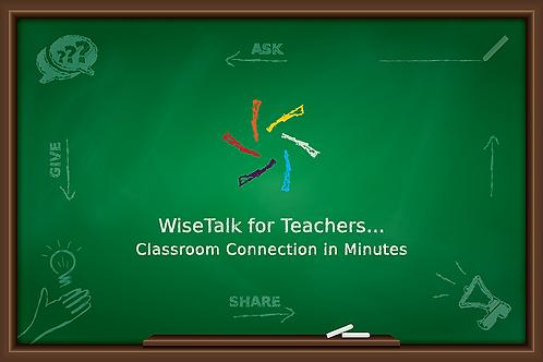 WiseTalk for Teachers