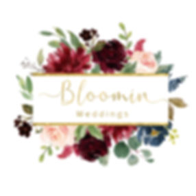Bloomin Weddings Florist nd weddng decoration specialist logo