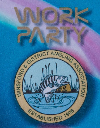 Work party Waiver Sticker to fish  April & May -2021