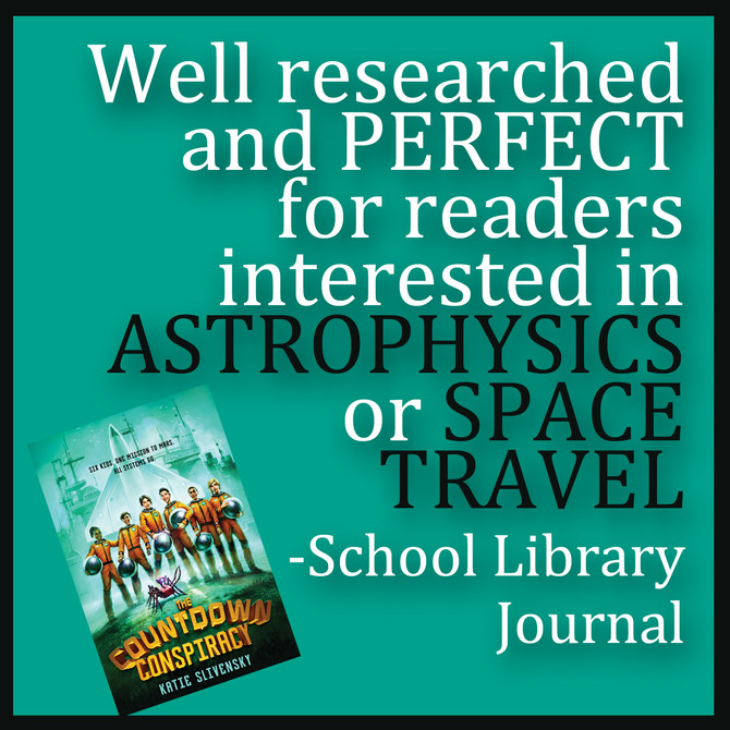School Library Journal Review is in!