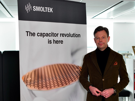 Smoltek signs evaluation license agreement with leading capacitor manufacturer