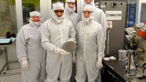 Smoltek demonstrates CNF-growth on a 200mm silicon wafer