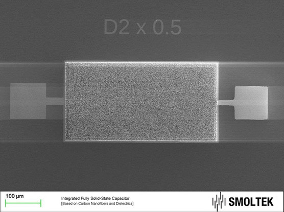ST integated solid state Supercapacitor.
