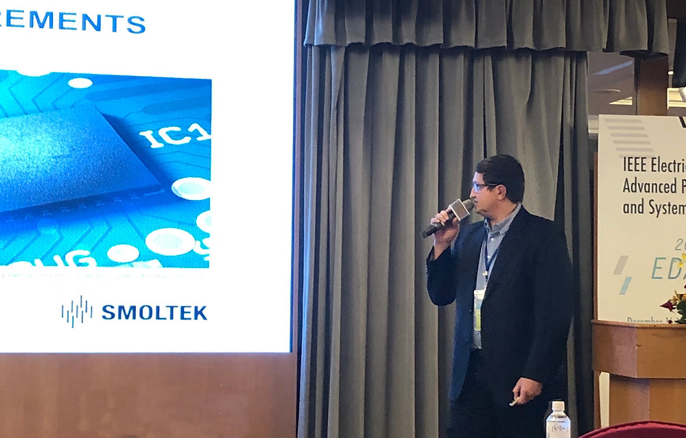 Vincent Desmaris, CTO at Smoltek