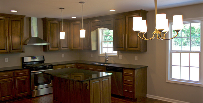 Stained Cabinets - 333TE
