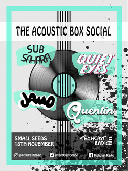Acoustic Box Social Poster (ARTISTS)