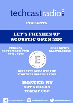 Let's Freshen Up Acoustic Open Mic