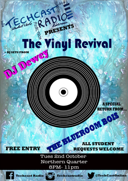 Vinyl Night Poster 2nd Oct Finished