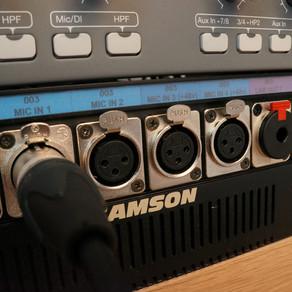 Recording Using the Digidesign 003