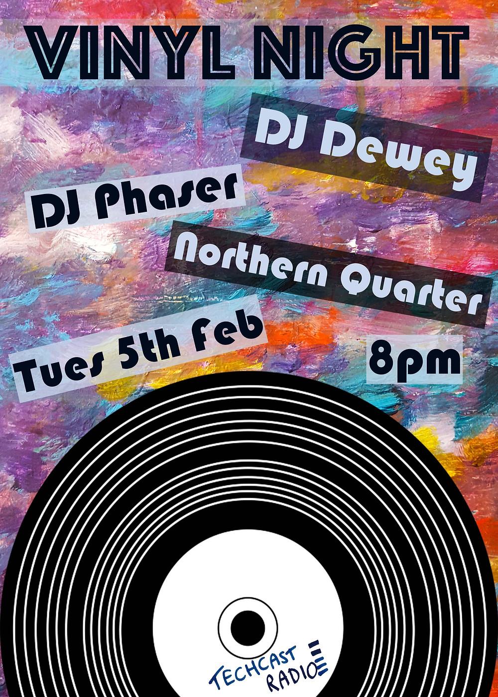Vinyl Night II Poster