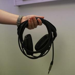 Coiling Headphones