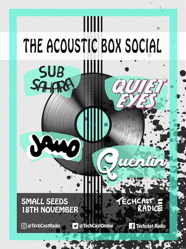 Acoustic Box Social Poster