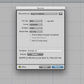 19. How To Bounce/Export An Audio Mixdown