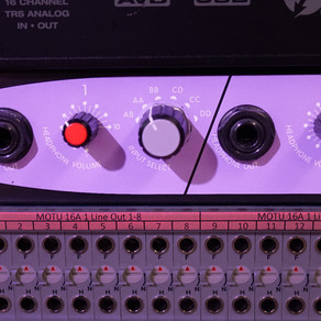 Setting up a Headphone Mix