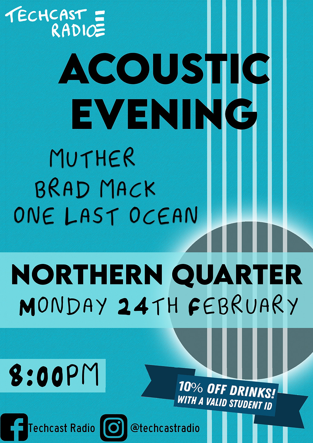 Acoustic Evening Poster