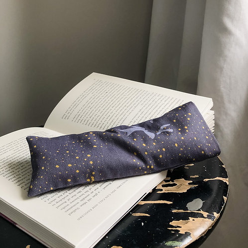 WHEAT AND LAVENDER EYE PILLOW