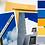 Thumbnail: Yellow & Blue Phone Wallpaper