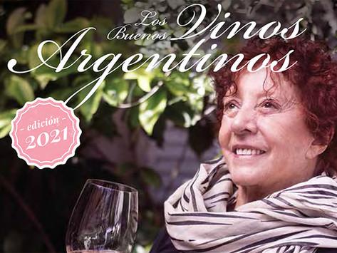 """Elisabeth Checa presentó """"Los Buenos Vinos Argentinos 2021"""""""