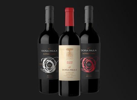 Tres etiquetas de Doña Paula fueron distinguidas en los DWWA 2020