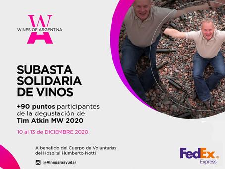 WofA realizará una subasta solidaria en beneficio del Hospital Dr. Humberto Notti