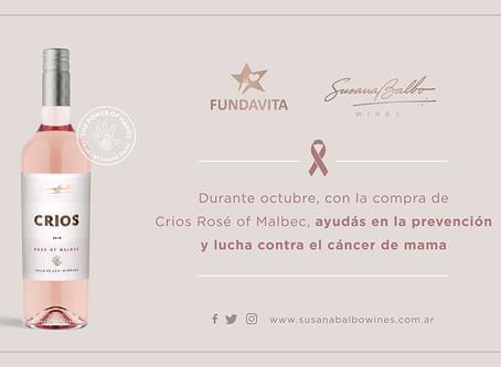 Susana Balbo Wines colaborará con FundaVita en la prevención del cáncer de mama