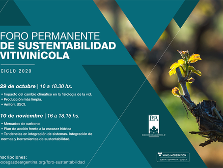 Bodegas de Argentina celebra foro de sustentabilidad