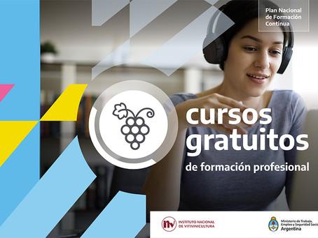 El INV y el Ministerio de Trabajo la Nación ofrecen cursos de formación profesional