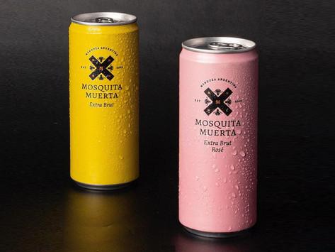 Mosquita Muerta Wines presenta los primeros espumantes en lata de la Argentina