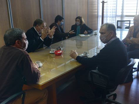El INV se reunió con referentes del sector de San Juan