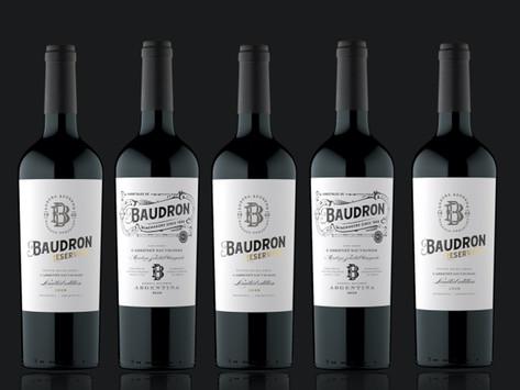 Cabernet Sauvignon 2019 Reservado, el elegido por Bodegas Baudron por celebrar a la uva en su día