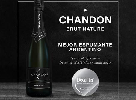 "Chandon Brut Nature, distinguido como ""Mejor Espumante Argentino"" por Decanter"
