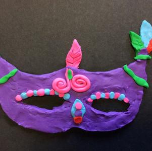 Ovingham First School mask making