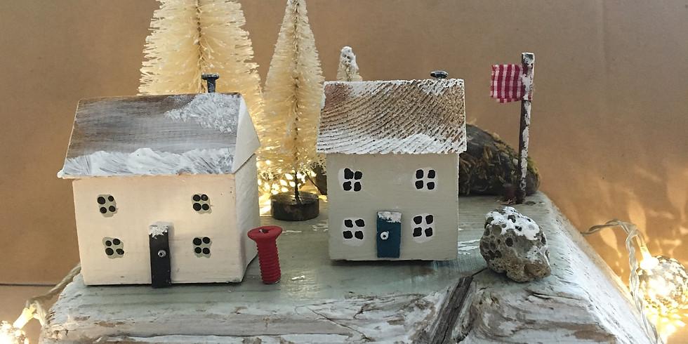 Winter Cottages Morning Workshop