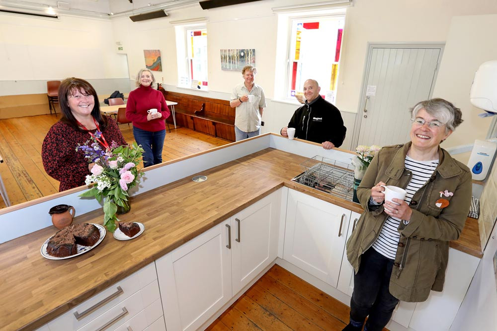 Hearth new kitchen with trustees and Karbon homes