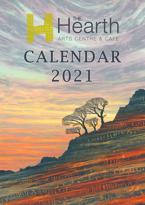 Buy The Hearth Northumberland 2021 calendar art artists paintings Rebecca Vincent