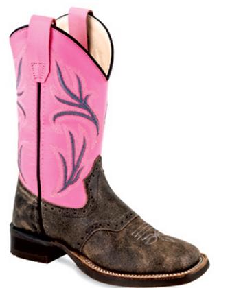 Old West Children's Western Boot