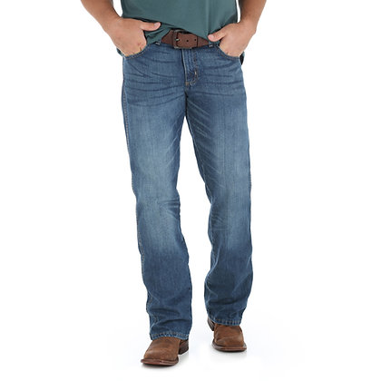 Wrangler Retro Relaxed Fit Bootcut True Blue