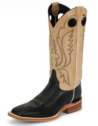 Justin Stillwater Black Western Boot