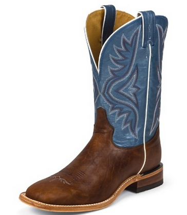 Tony Lama Avett Blue Western Boot