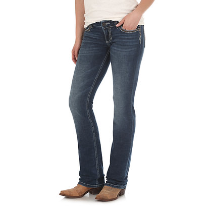Wrangler Retro Mae Straight Leg Mid-Rise
