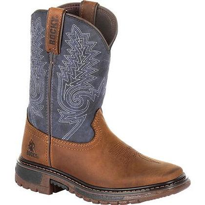 Rocky Children's Ride Flx Western Boot