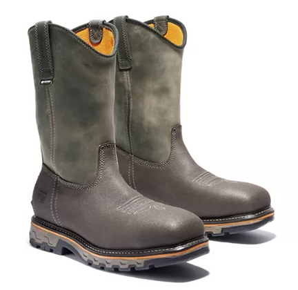 TIMBERLAND PRO® TRUE GRIT WATERPROOF COMPOSITE-TOE PULL-ON BOOTS