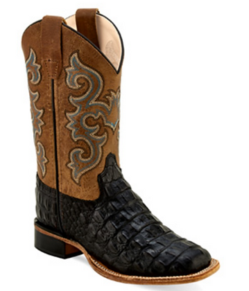 Old West Youth Western Boot
