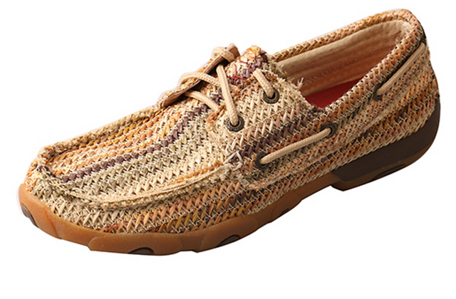 Twisted X Women's Driving Moccasins-Multi Pattern