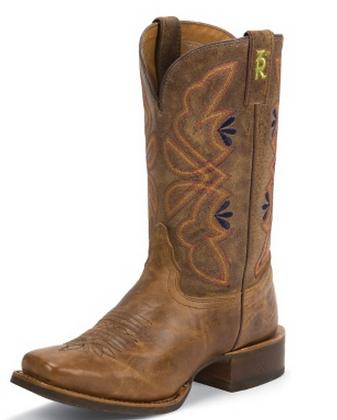 Aquilla Tan Western Boots
