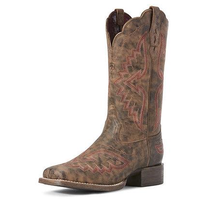 Ariat Round Up Santa Fe Western Boot